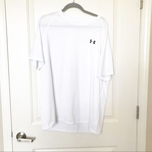 UNDER ARMOUR • White Loose Short Sleeve Tee Sz XL